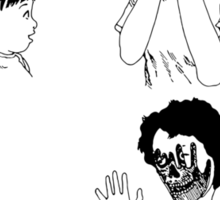 Shintaro – Peek-a-boo (Variant) Sticker