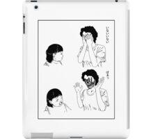 Shintaro – Peek-a-boo (Variant) iPad Case/Skin