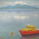 Dundrum Bay and the Mountains of Mourne by Hilary Robinson