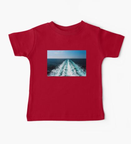 Wake From a Cruise Ship Baby Tee