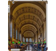 Boston Public Library iPad Case/Skin