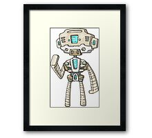 Star Trek Robot Framed Print