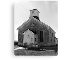 Beecher Bible and Rifle Church Canvas Print