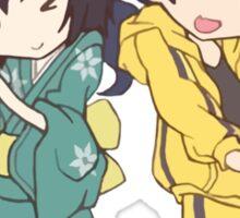 Monogatari – Fire Sisters Sticker