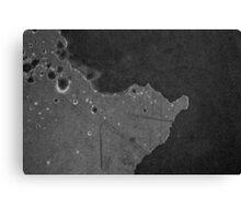 Satellite over Hyundai 2000 Canvas Print
