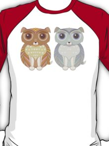Two Fluffy Dogs T-Shirt
