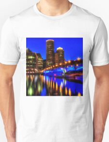 Night of Blue - Fort Point Channel, Boston Unisex T-Shirt