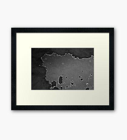 Satellite over Hyundai 2000 Framed Print