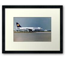 Lufthansa Airbus A319 Framed Print