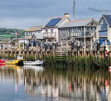 Seaton Harbour - Devon by Susie Peek