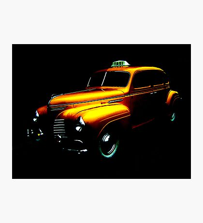 Taxi ... Photographic Print