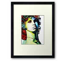 """Jim Morrison"" Framed Print"