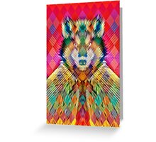 Corporate Wolf Greeting Card