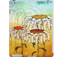 Digital Daisy Trio Impression Painting iPad Case/Skin