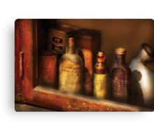 Pharmacist - Mircle Tonics Canvas Print