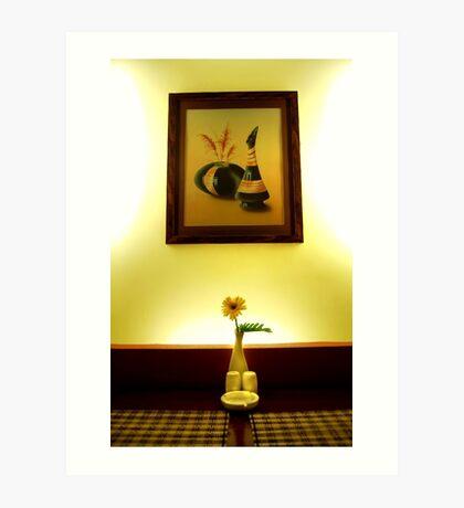 Dining Room Art Print