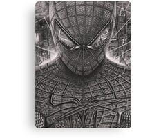 Spiderman - Guardian Of The Night Canvas Print