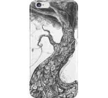 Doodle tree iPhone Case/Skin