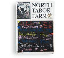 North Tabor Farms Canvas Print