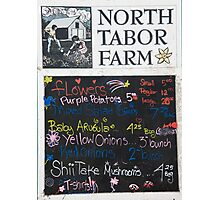 North Tabor Farms Photographic Print