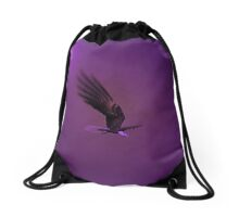 Once In A Purple Moon...... Drawstring Bag