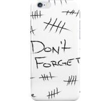 Silence - Black Marker iPhone Case/Skin
