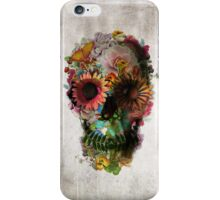 Floral Skull iPhone Case/Skin