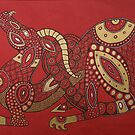 Red Dragon No. 4 by Lynnette Shelley