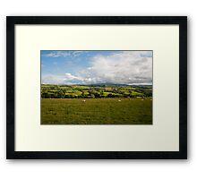 English field Framed Print