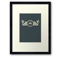 Aperture Laboratories Test Subject Framed Print