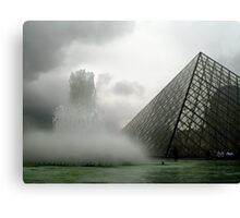 How to build a perfect pyramid (try one more time) Canvas Print