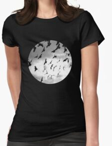 Bad Moon Womens Fitted T-Shirt
