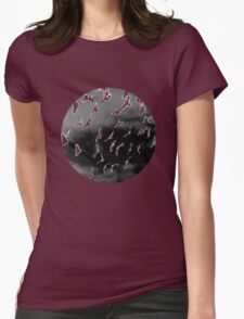 Bad Moon - White Womens Fitted T-Shirt
