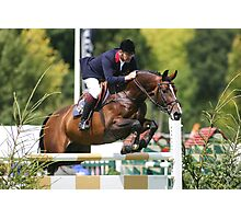 Robert Smith @ Hickstead Photographic Print