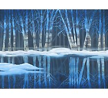 Winter Reflections Photographic Print