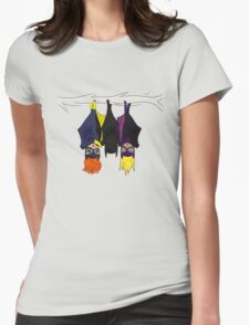 The Bat-girls Womens Fitted T-Shirt