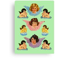 Angel Bookmarks Canvas Print