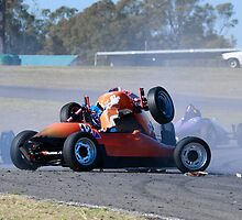 Formula Vee Crash by Dean Perkins