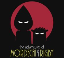 The Adventures of Mordecai & Rigby T-Shirt