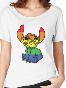 Rainbow Stitch Women's Relaxed Fit T-Shirt