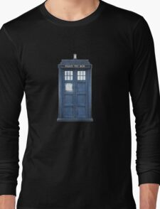 Dr. Who Tardis Long Sleeve T-Shirt
