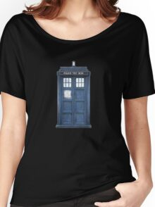 Dr. Who Tardis Women's Relaxed Fit T-Shirt