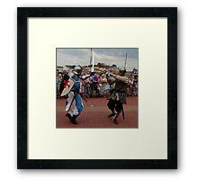 Ridders van de IJssel battle 2010 Framed Print