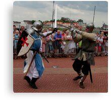 Ridders van de IJssel battle 2010 Canvas Print