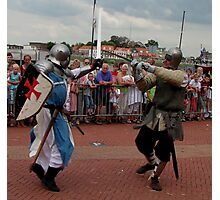 Ridders van de IJssel battle 2010 Photographic Print