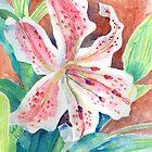 Stargazer Lily by arline wagner