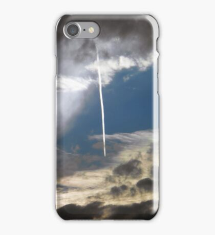 ©HCS Airplane Tracks IA. iPhone Case/Skin