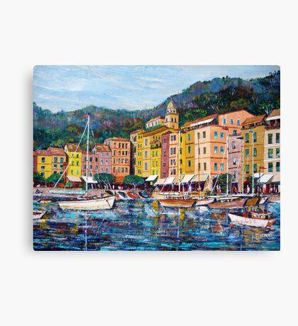 Portofino seascape Canvas Print