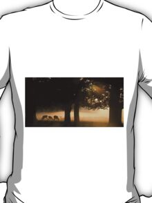 Grazing in the Mist T-Shirt