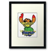 Rainbow Stitch - Happy Hour Framed Print